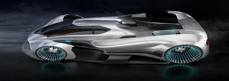 Viritech Developing Fuel-Cell-Powered Hydrogen Hypercar In Britain