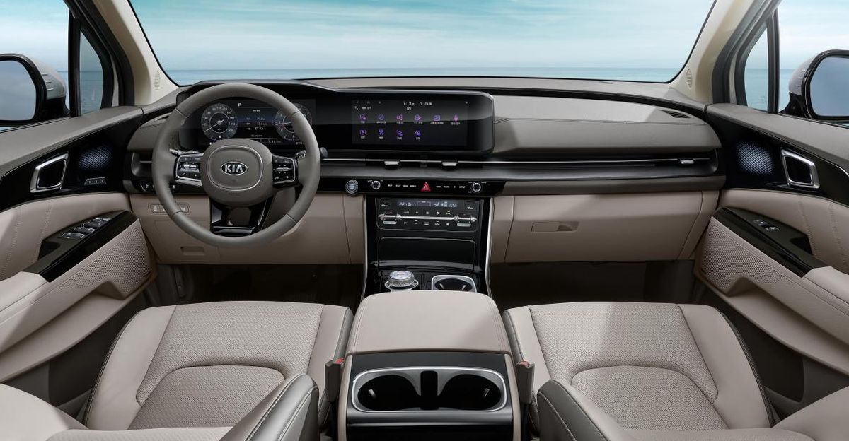 Kia Reveals the Interior of Next-gen Carnival