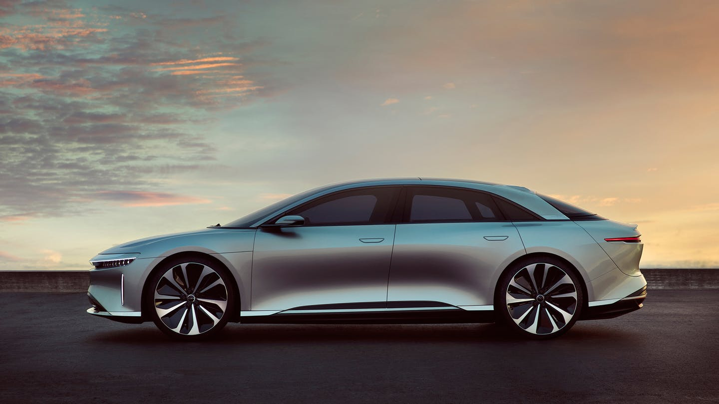 Lucid Motors to Begin Construction of New EV Factory This Year