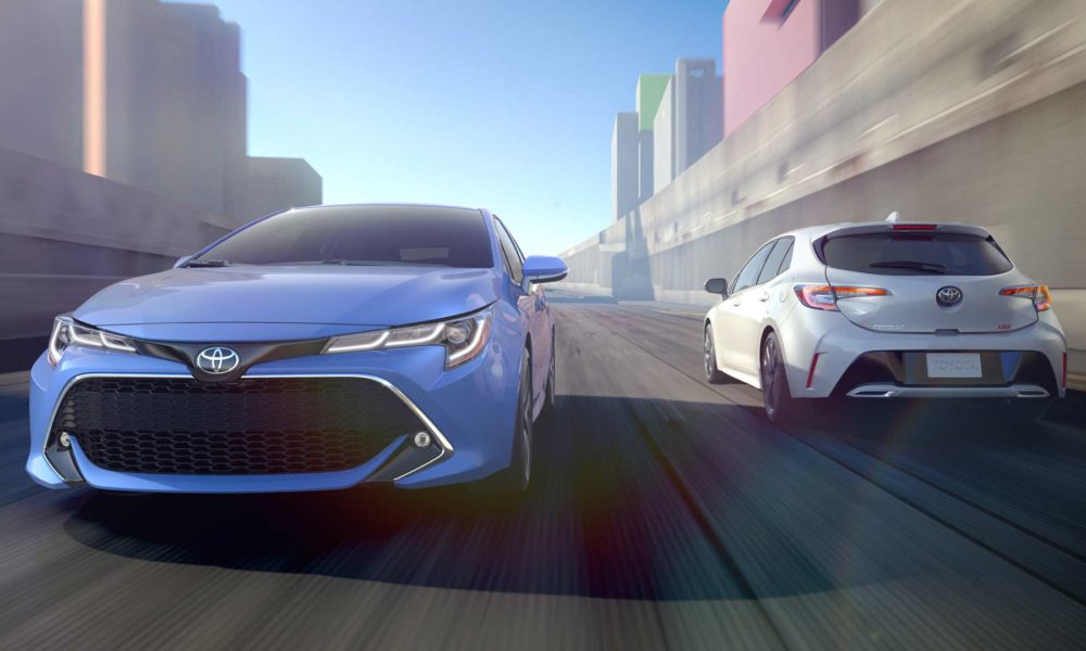 Toyota Unveils Special Edition of Corolla Hatchback